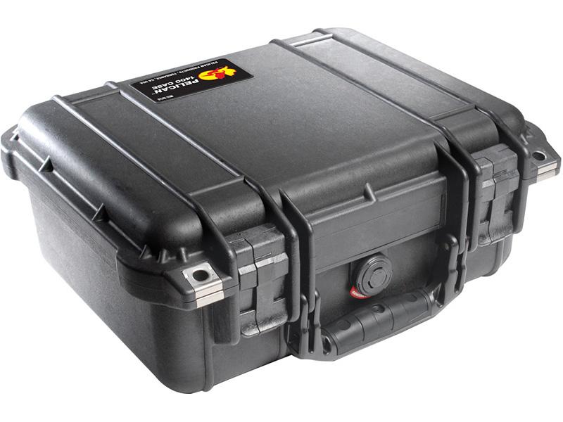 PELICAN(ペリカン) プロテクターケース 1400 フォーム付 BLACK [ブラック] [1400-000-110] 携帯電話 デジカメケース 保護ケース スキューバダイビング ハードケース