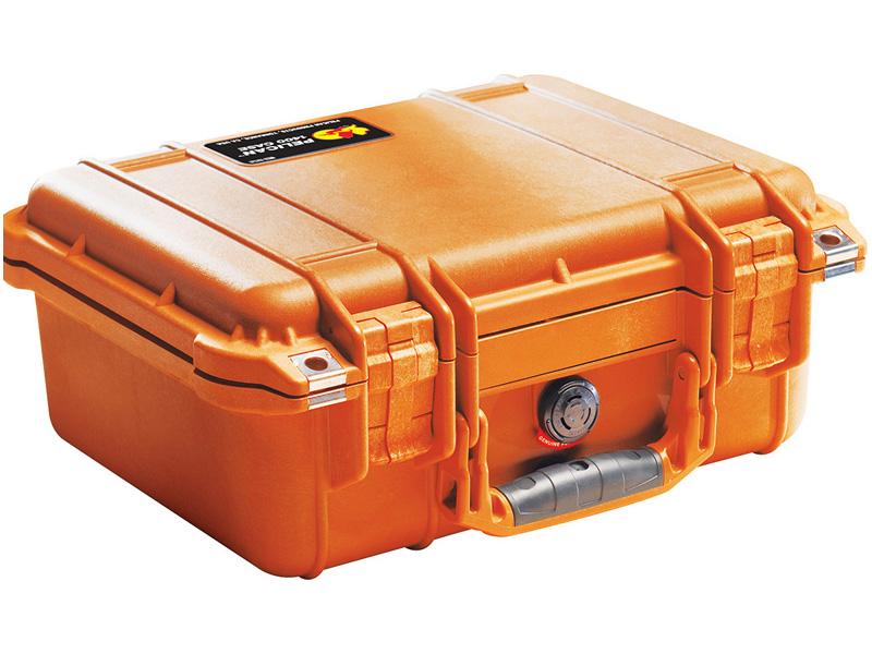 PELICAN(ペリカン) プロテクターケース 1450 フォームなし ORANGE [オレンジ] [1450-001-150] 携帯電話 デジカメケース 保護ケース スキューバダイビング ハードケース