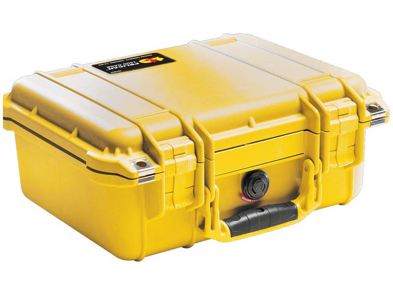 PELICAN(ペリカン) プロテクターケース 1400 フォームなし YELLOW [イエロー] [1400-001-240] 携帯電話 デジカメケース 保護ケース スキューバダイビング ハードケース