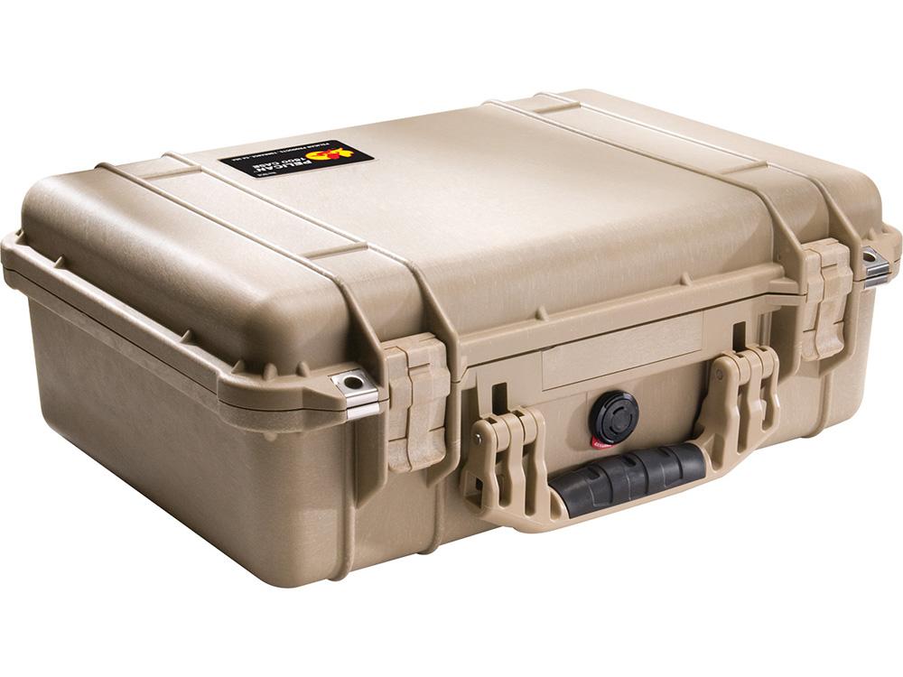 PELICAN(ペリカン) プロテクターケース 1500 フォーム付 DESERT TAN [デザートタン] [1500-000-190] 携帯電話 デジカメケース 保護ケース スキューバダイビング ハードケース