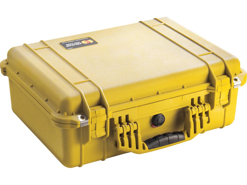 PELICAN(ペリカン)プロテクターケース 1520 フォーム付 YELLOW [イエロー] [1520-000-240] 携帯電話 デジカメケース 保護ケース スキューバダイビング ハードケース