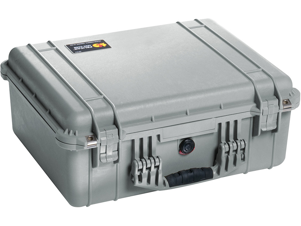 PELICAN(ペリカン)プロテクターケース 1550 フォームなし SILVE [シルバー] [1550-001-180] 携帯電話 スキューバダイビング ハードケース
