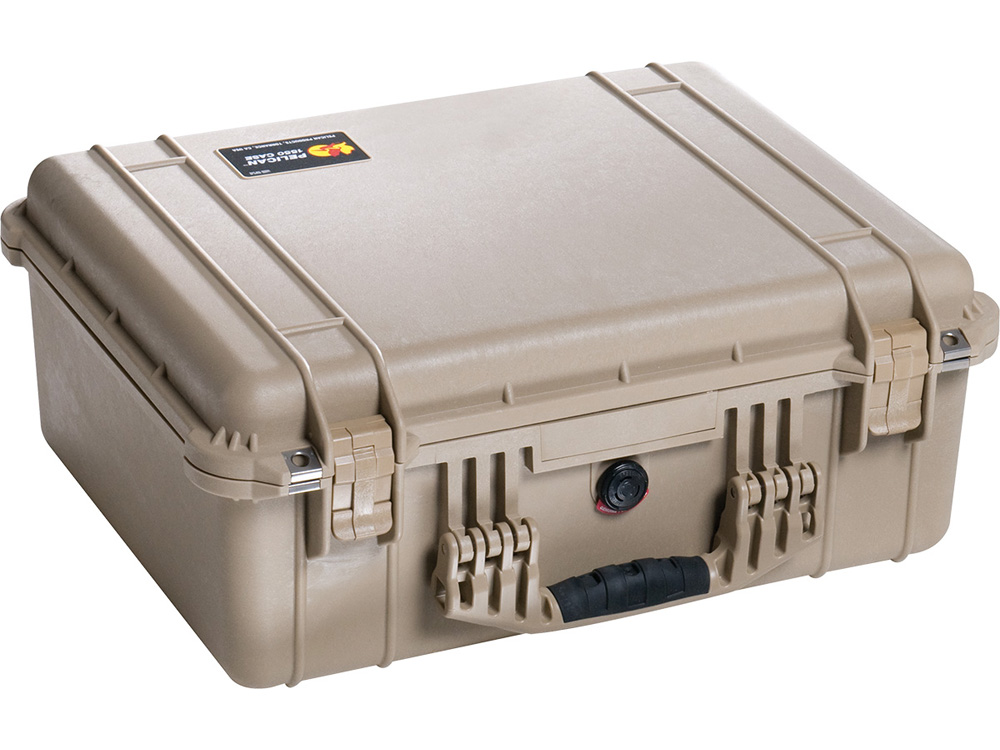 PELICAN(ペリカン)プロテクターケース 1550 フォームなし DESERT TAN [デザートタン] [1550-001-190] 携帯電話 スキューバダイビング ハードケース