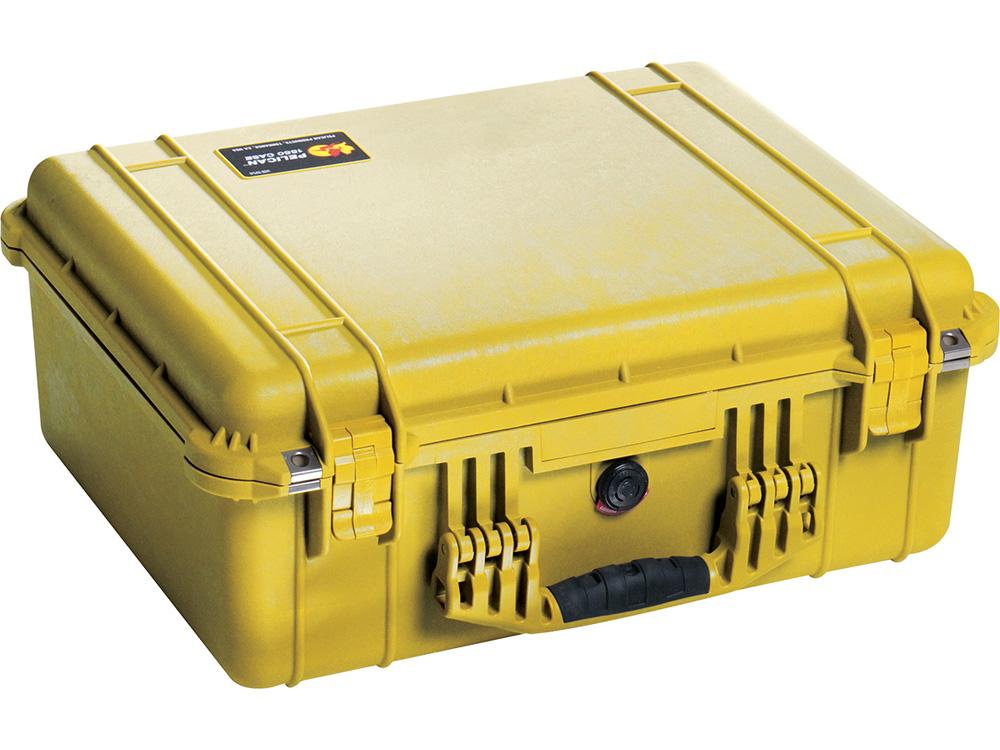 PELICAN(ペリカン)プロテクターケース 1550 フォームなし YELLOW [イエロー] [1550-001-240] 携帯電話 スキューバダイビング ハードケース