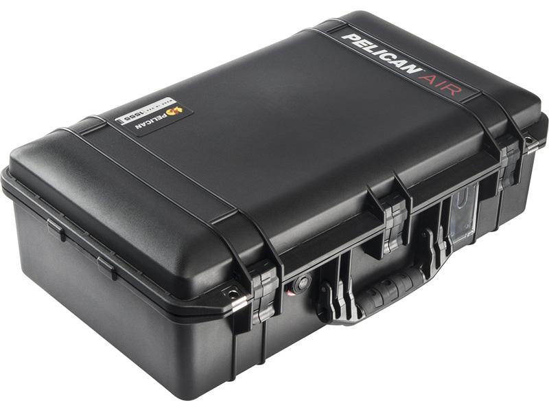 PELICAN(ペリカン)エアケース 1555 フォーム付 BLACK [ブラック] [015550-0000-110] ハードケース 防水性・耐衝撃性・防塵性 保護ケース カメラ用品