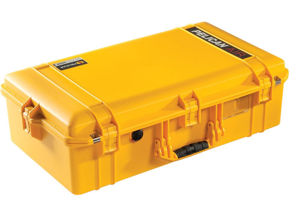 PELICAN(ペリカン)エアケース 1605 フォーム付 YELLOW [イエロー] [016050-0000-240] ハードケース 防水性・耐衝撃性・防塵性 保護ケース カメラ用品