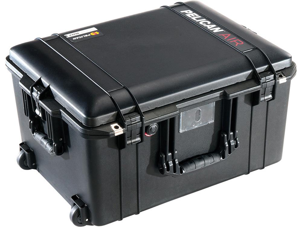 PELICAN(ペリカン)エアケース 1607 フォーム付 BLACK [ブラック] [016070-0000-110] キャスター付 ハードケース 防水性・耐衝撃性・防塵性 保護ケース カメラ用品