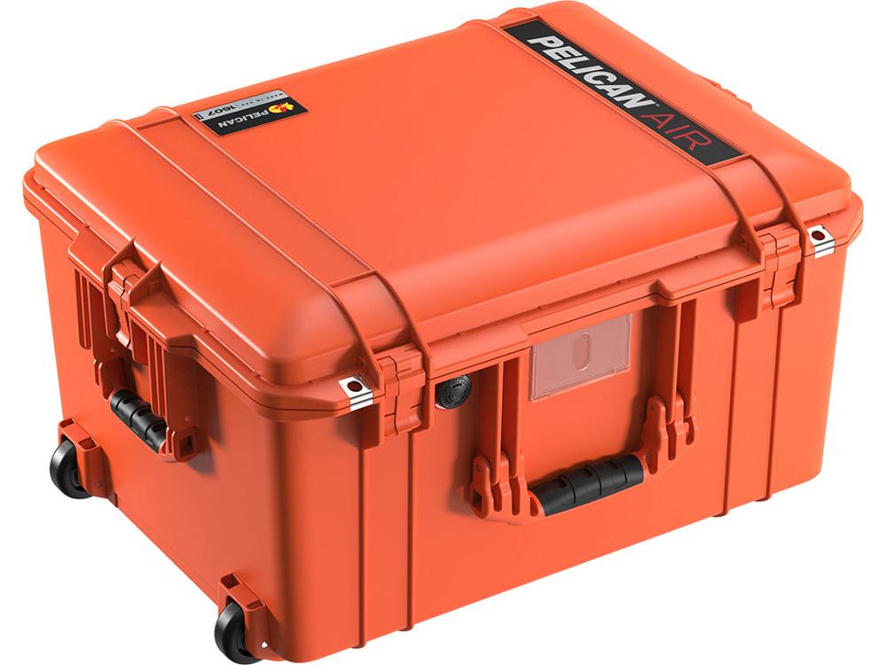 PELICAN(ペリカン)エアケース 1607 フォーム付 ORANGE [オレンジ] [016070-0000-150] キャスター付 ハードケース 防水性・耐衝撃性・防塵性 保護ケース カメラ用品