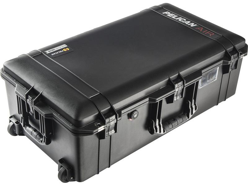 PELICAN(ペリカン)エアケース 1615 フォームなし BLACK [ブラック] [016150-0010-110] キャスター付き ハードケース 防水性・耐衝撃性・防塵性 保護ケース カメラ用品 機内持ち込みサイズ 収納可能な延長ハンドル