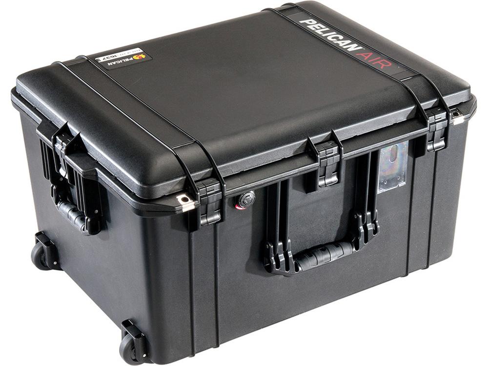 ペリカンケースや、その他ダイビング器材がお買い得! PELICAN(ペリカン)エアケース 1637 フォームなし BLACK [ブラック] [016370-0010-110] キャスター付 ハードケース 防水性・耐衝撃性・防塵性 保護ケース カメラ用品