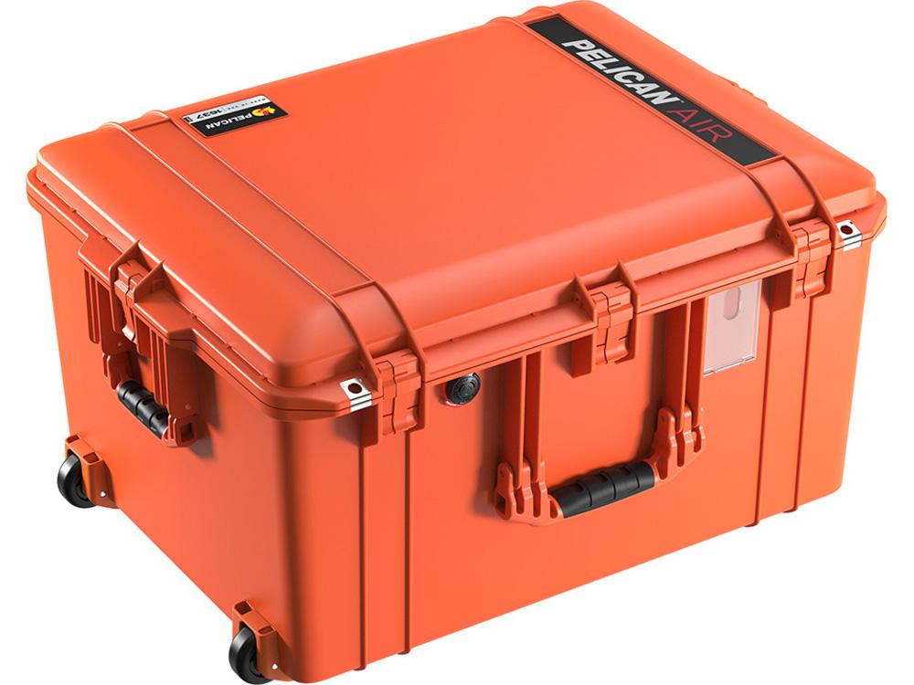 PELICAN(ペリカン)エアケース 1637 フォーム付 ORANGE [オレンジ] [016370-0000-150] キャスター付 ハードケース 防水性・耐衝撃性・防塵性 保護ケース カメラ用品