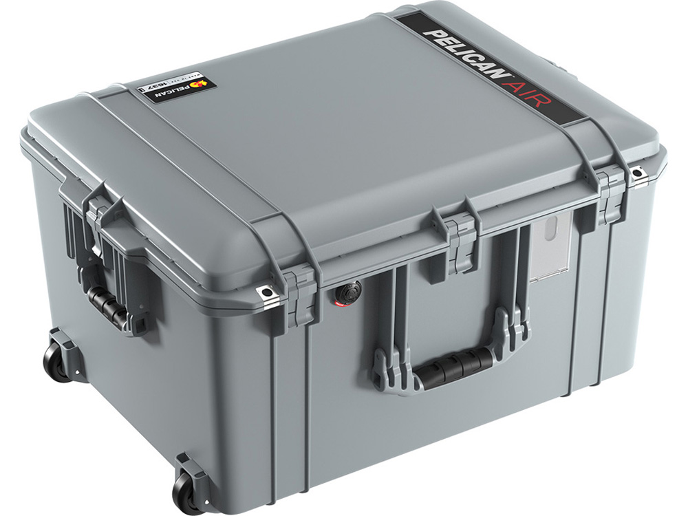 PELICAN(ペリカン)エアケース 1637 フォーム付 SILVE [シルバー] [016370-0000-180] キャスター付 ハードケース 防水性・耐衝撃性・防塵性 保護ケース カメラ用品