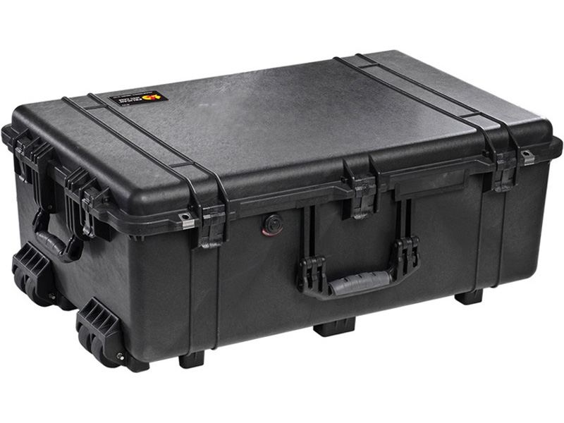 PELICAN(ペリカン)プロテクターケース 1650 フォーム付 BLACK [ブラック] [1650-020-110] キャスター付き ハードケース 防水性・耐衝撃性・防塵性 保護ケース カメラ用品 収納可能な延長ハンドル