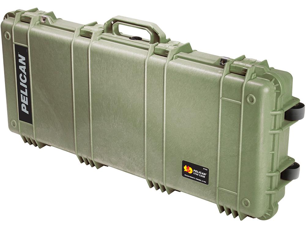 PELICAN(ペリカン) プロテクターロングケース 1700 フォームなし OD GREEN [ODグリーン] [1700-001-130] 保護ケース スキューバダイビング ハードケース