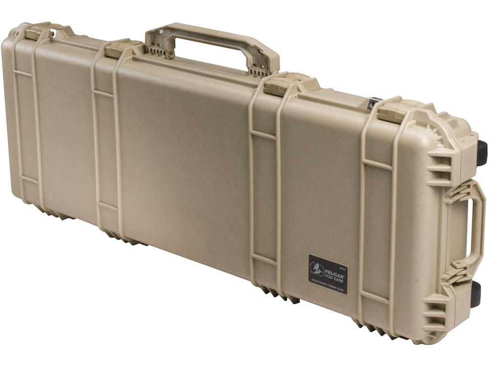 PELICAN(ペリカン) プロテクターロングケース 1700 フォームなし DESERT TAN [デザートタン] [1700-001-190] 保護ケース スキューバダイビング ハードケース