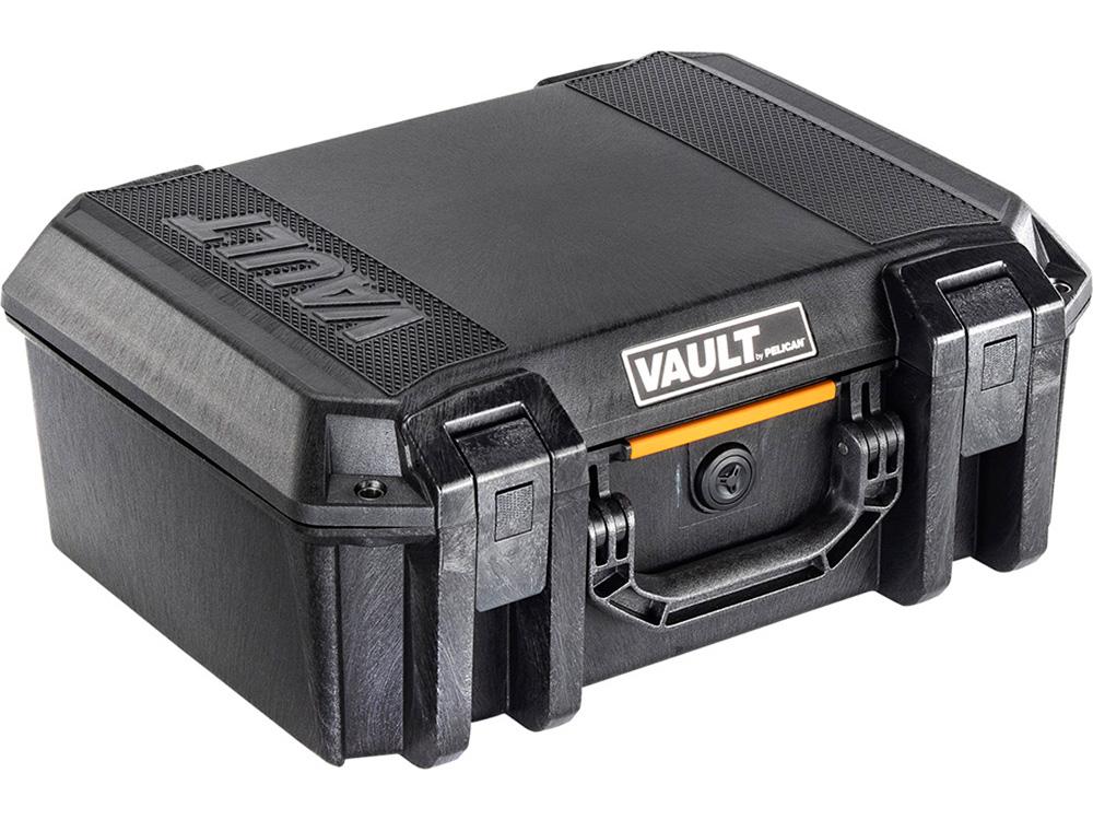 PELICAN(ペリカン) Vault Large Pistol Case V300 ボルトラージケース フォーム付き BLACK [ブラック] 機器ケース 保護ケース 防水 耐衝