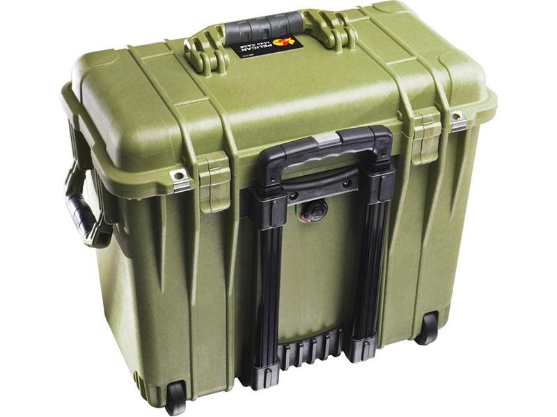PELICAN(ペリカン)プロテクターケース 1440 トップローダーケース フォーム付 OD GREEN [ODグリーン][1440-000-130] キャスター付 延長ハンドル