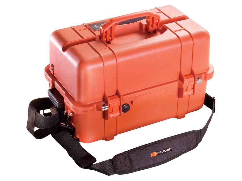 PELICAN(ペリカン)プロテクターケース 1460 EMSケース フォーム付 ORANGE [オレンジ][1460-005-150] ダイビング 小物ケース