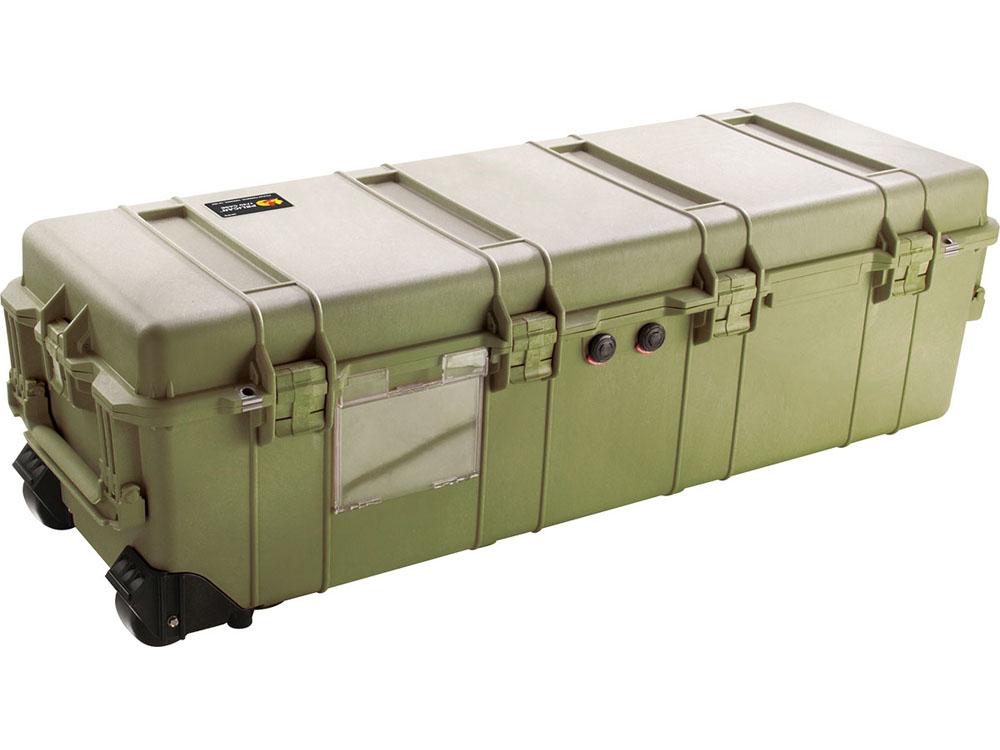 品質保証 ペリカンケースや その他ダイビング器材がお買い得 PELICAN ペリカン プロテクター 1740 ロングケース フォーム付 GREEN 1740-000-130 ダイビング キャスター付 ODグリーン ハードケース アウトレットセール 特集 OD