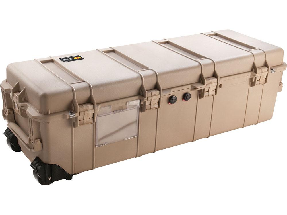 PELICAN(ペリカン)プロテクター 1740 ロングケース フォームなし DESERT TAN [デザートタン] [1740-001-190] ダイビング ハードケース キャスター付