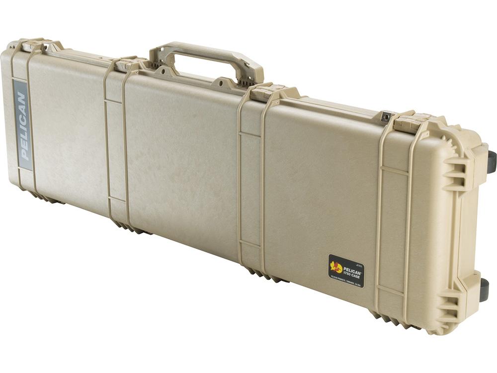 PELICAN(ペリカン)プロテクター 1750 ロングケース フォームなし DESERT TAN [デザートタン] [1750-001-190] ダイビング ハードケース キャスター付