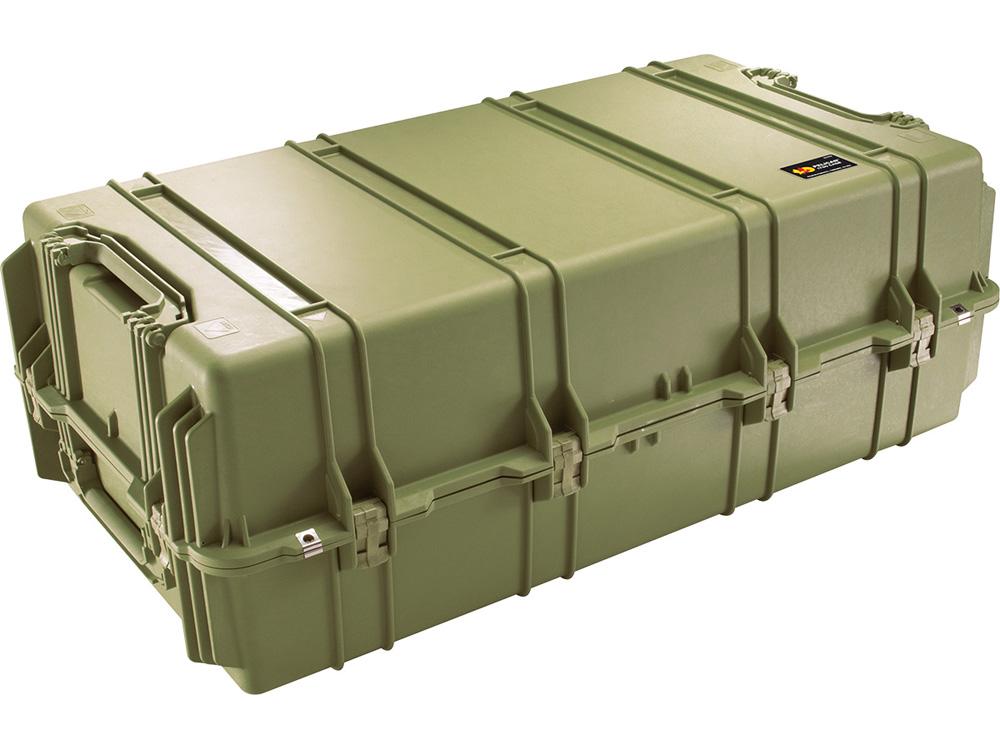 PELICAN(ペリカン)プロテクターケース 1780 フォームなし OD GREEN [ODグリーン] [1780-001-130] ハードケース 収納可能な延長ハンドル