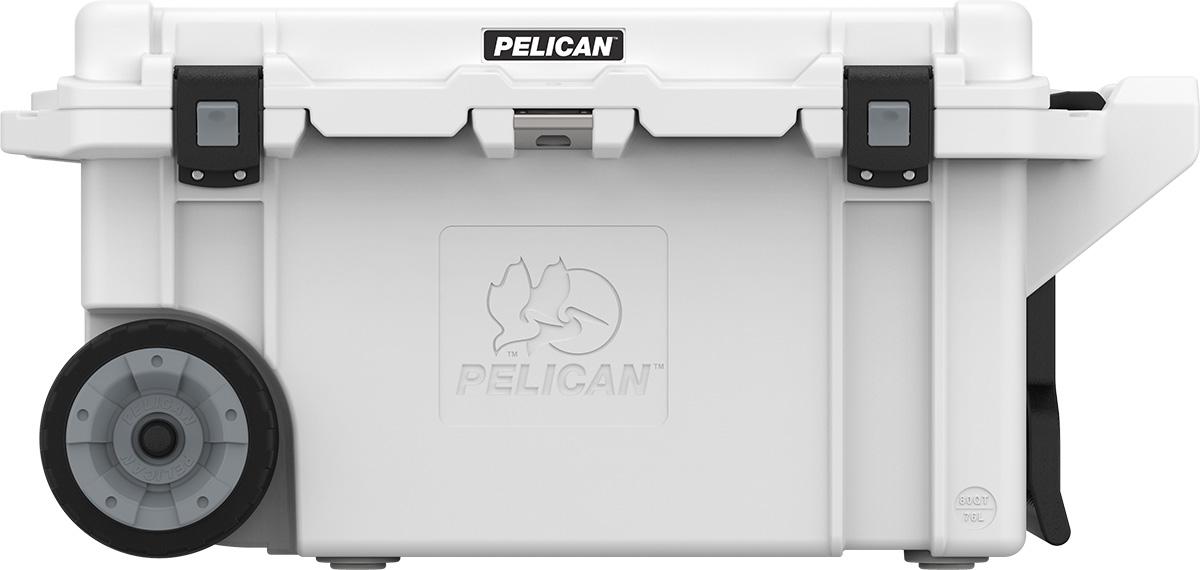 PELICAN(ペリカン)80QT Elite キャスター付 ホワイト/グレイ[80QW-1-WHT] エリートクーラーボックス 保冷
