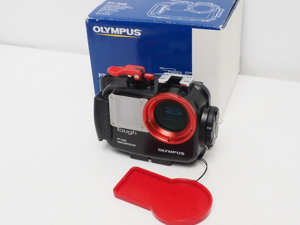 USED OLYMPUS PT-048 防水プロテクター カメラ用ハウジング ランクAA [AZ34362]