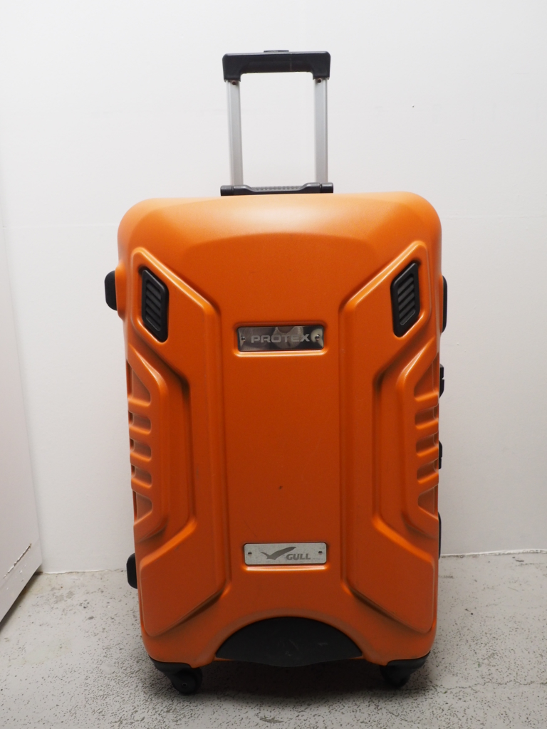 USED PROTEX GULL FP-330 オレンジ ハードケース ランクA [W34762]