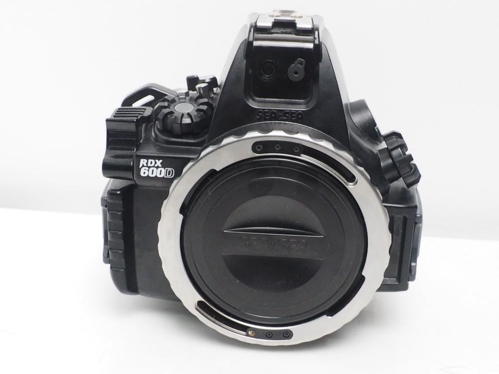 USED SEA&SEA RDX-600D Canon EOS kiss X5用 ハウジング ランクAA [S34795]