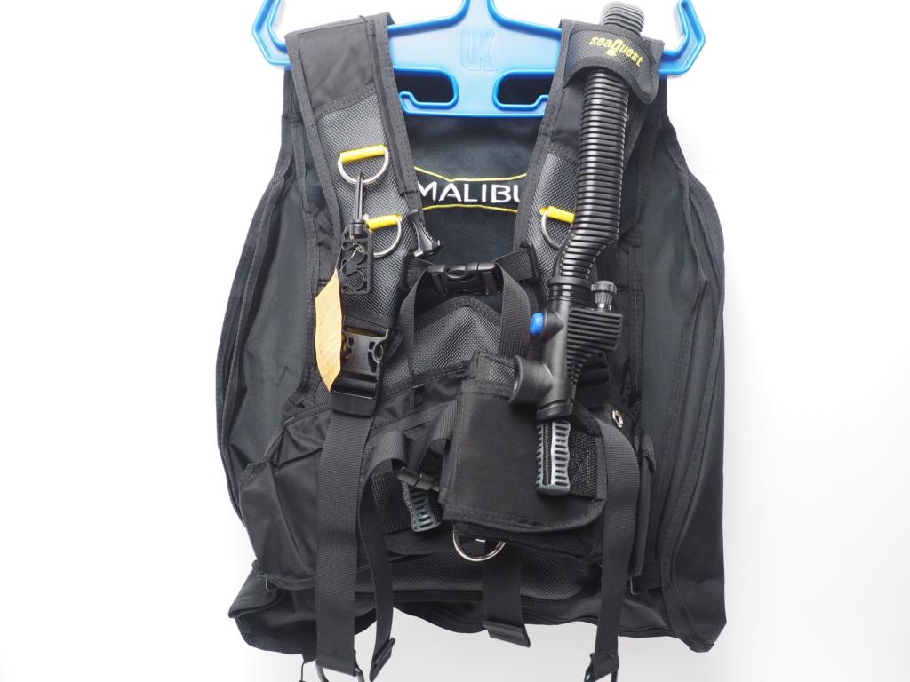 未使用 SeaQuest シークエスト MALIBU マリブ バックフロート BCジャケット サイズ:M [W35734]