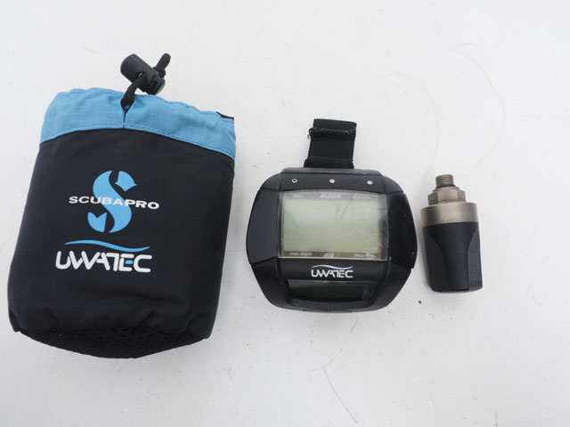 USED UWATEC ウワテック ALADIN AIR-Z アラジン エアZ トランスミッター付 バッテリー切れ [38027]