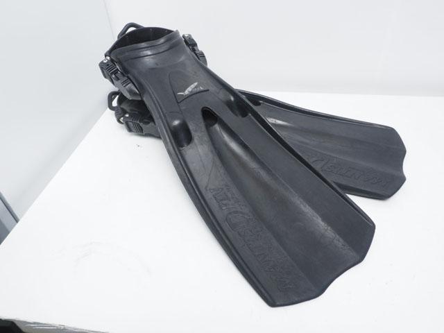 USED GULL MANTIS DRY FIN マンティスドライフィン スプリングストラップ サイズ:S ブラック(22-25cm) [37254]