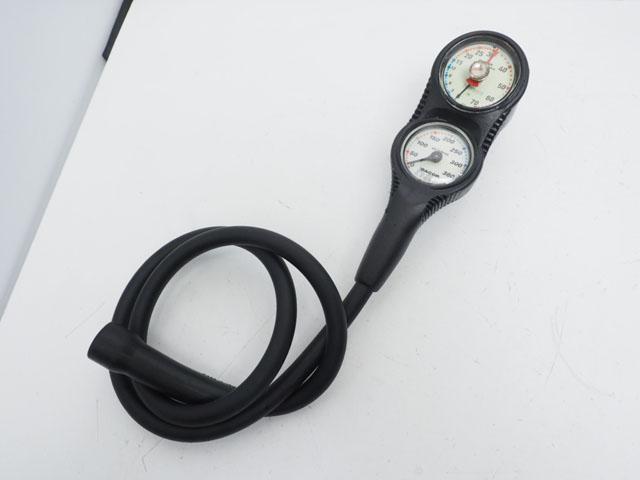USED DACOR 3ゲージ (残圧計+水深計+コンパス) ランクA [37507]