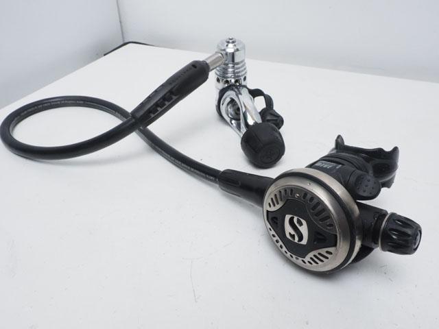 USED SCUBAPRO スキューバプロ MK25/S600 メタルフェイス レギュレター ランクA [37649]