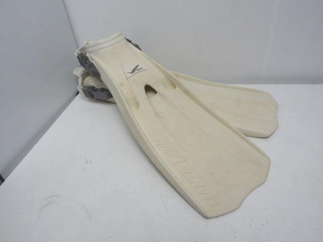 USED GULL ガル MANTIS DRY FIN マンティスドライフィン ホワイト サイズ:M(25-27cm) [W37766]
