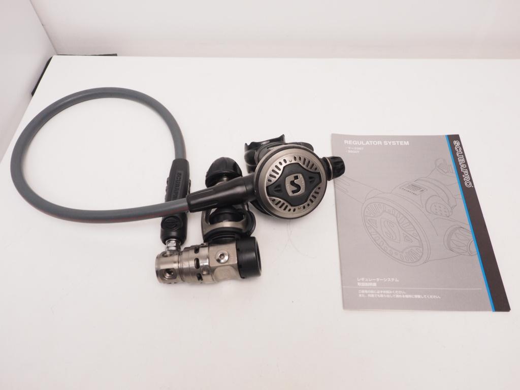 USED SCUBAPRO MK25T S600T フルチタンモデル レギュレター OH済 [RY32376]