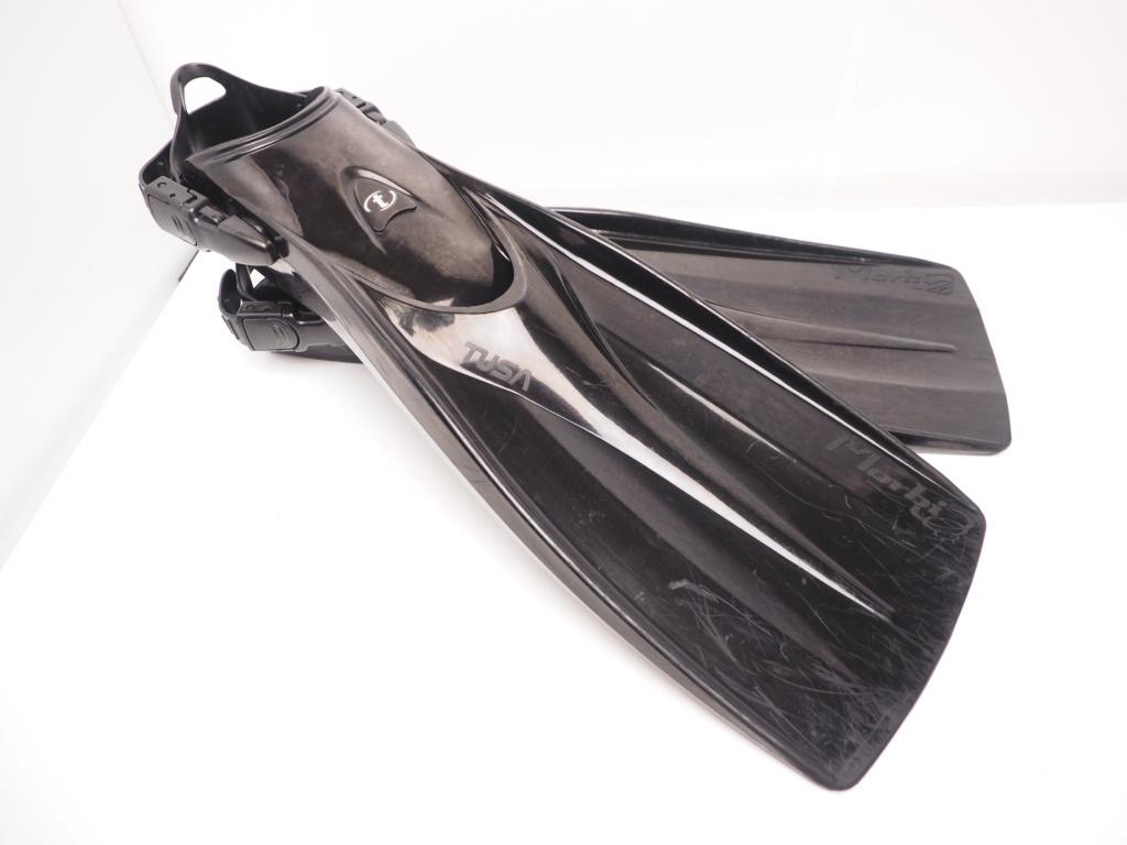 USED TUSA Morbi フィン ブラック サイズ:L ランクAA [RYW32380]