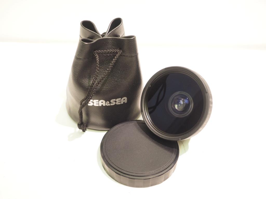 未使用 SeaSea ワイドコンバージョンレンズ 優先配送 16mm F5-6 MARINE for 至高 MOTOR RY32454 II