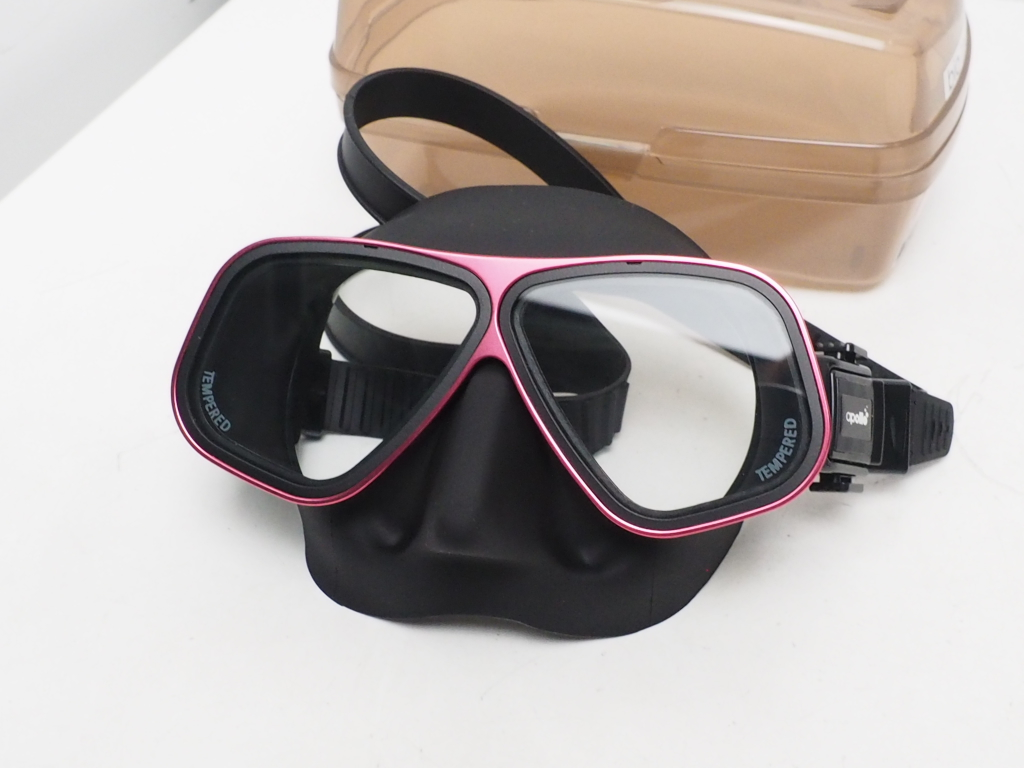 新品 apollo バイオメタルマスク type-D ブラックシリコン カラー:ピンク [RYS33396]