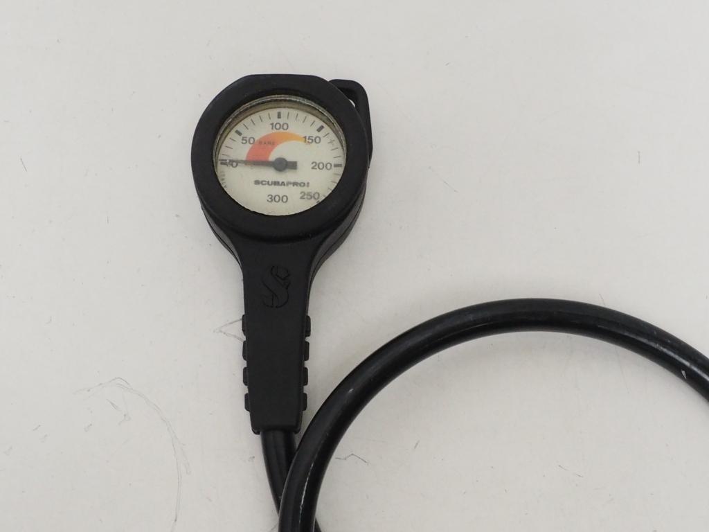 USED SCUBAPRO シングルゲージ(残圧計)OH済 [34345]