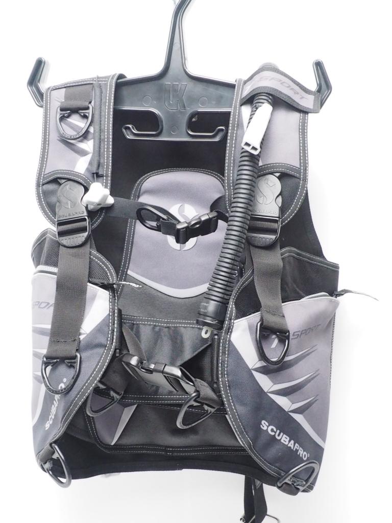 USED SCUBAPRO T-SPORT BCジャケット サイズ:S(M) OH済 ランクAA [W34576]