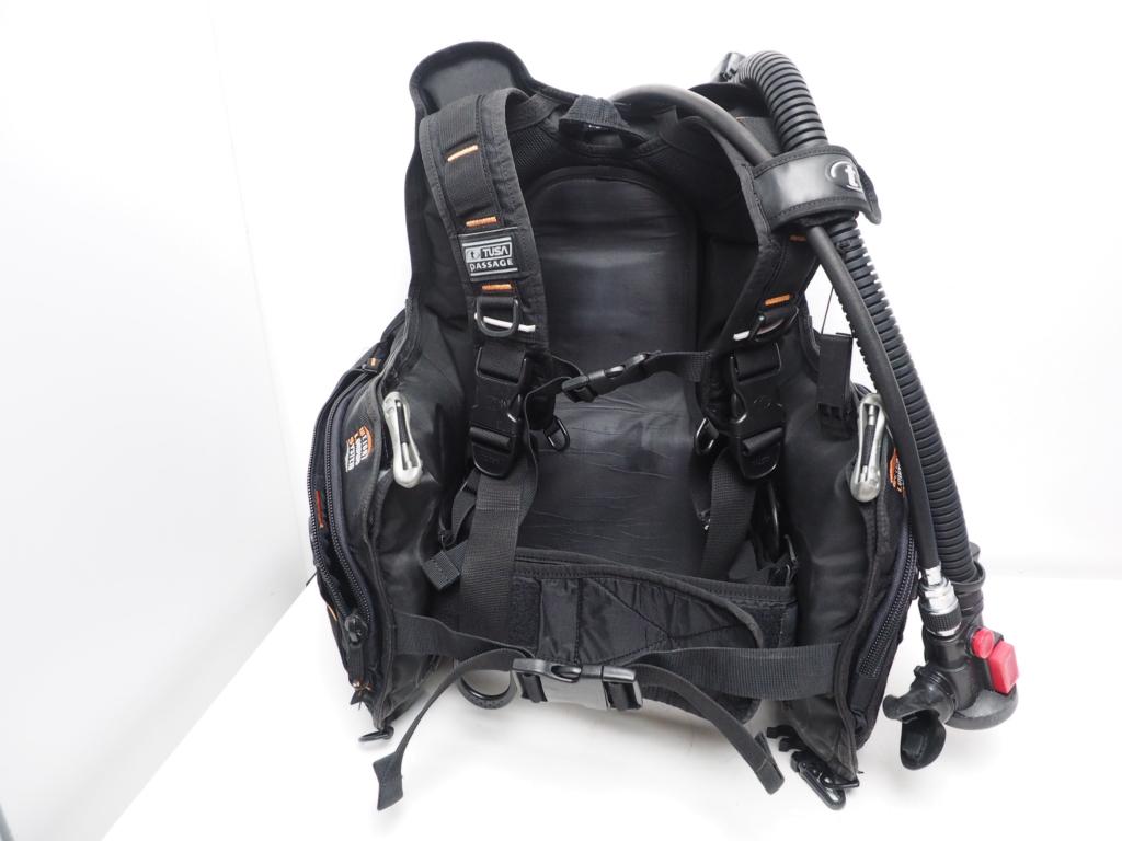 USED TUSA BCJ-1650 PASSAGE BCジャケット オクトパスインフレーター付 サイズ:L [W34638]