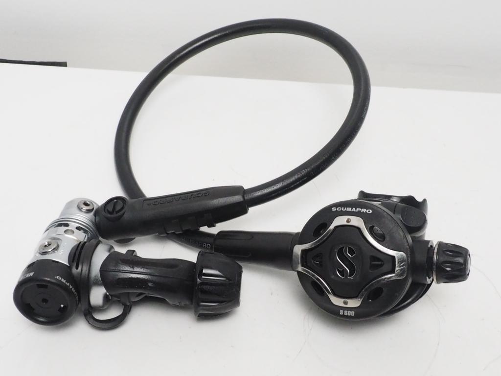USED SCUBAPRO スキューバプロ MK25/S600 レギュレター OH済 [35192]