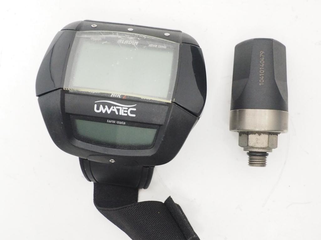 USED UWATEC ウワテック ALADIN AIR-Z アラジン エアZトランスミッター付 バッテリー切れ [35420]