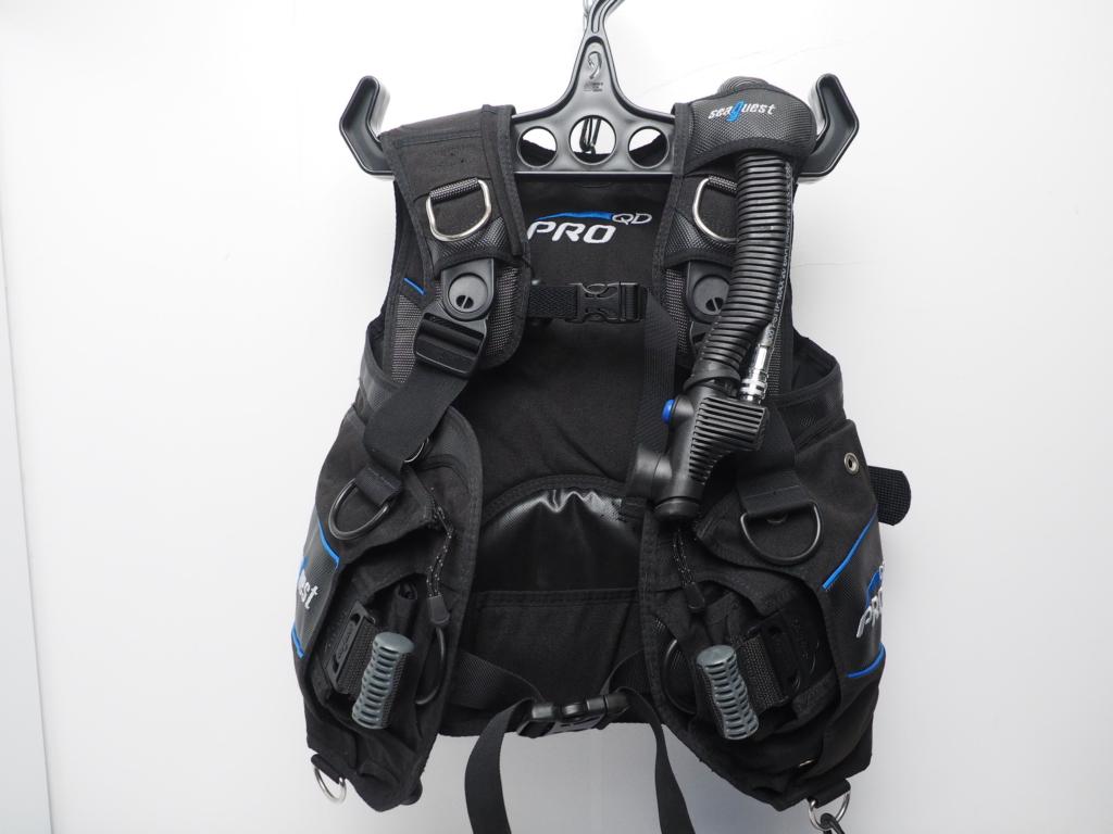 USED SeaQuest シークエスト PRO QD シュアロック BCジャケット サイズ:S ランクA [W35433]