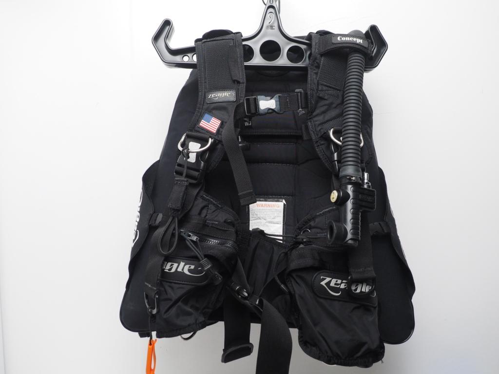 USED ZEAGLE ジーグル Concept コンセプト BCジャケット バックフロート サイズ:S [W35512]