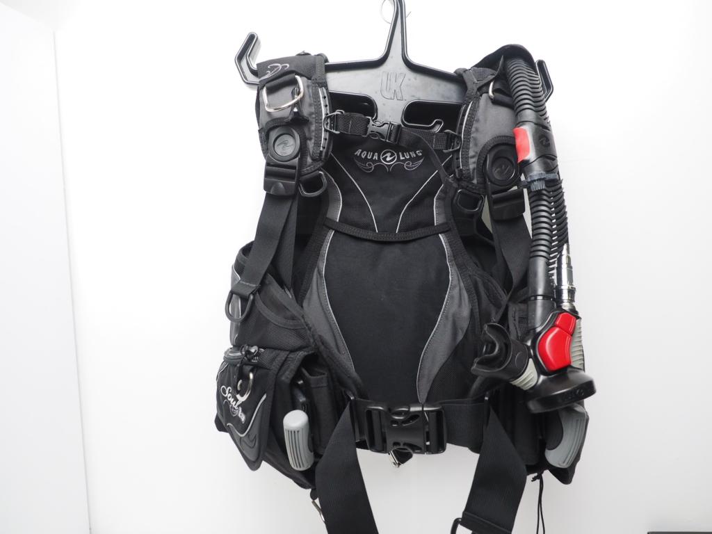 USED AQUALUNG アクアラング Sool i3 ソール エアソース3付き レディース BCジャケット サイズ:XXS ランクAA [W35601]