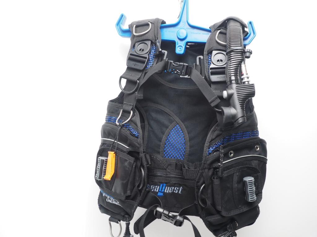 USED SeaQuest シークエスト PRO UNLIMITED プロ アンリミテッド BCジャケット OH済 サイズ:S [W35741]