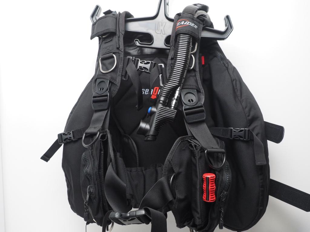 USED SeaQuest シークエスト RAIDER レイダー バックフロートBCジャケット OH済 サイズ:M ランクAA [W35784]